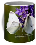 Butterfly - Dueteronomy 31 6 Coffee Mug