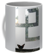 Butterfly Geometry  Coffee Mug