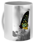 Butterfly Leaves Coffee Mug
