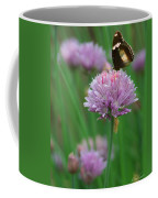 Butterfly On Clover Coffee Mug