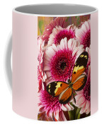 Butterfly On Pink Mum Coffee Mug