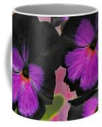 Butterfly Pansies Coffee Mug