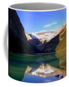 Butterfly Phenomenon At Lake Louise Coffee Mug