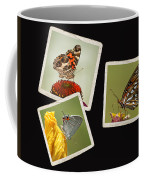 Butterfly Picture Page Collage Coffee Mug