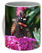Butterfly Plant At Work Coffee Mug