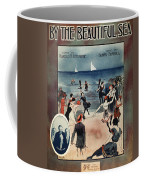 By The Beautiful Sea, 1914 Coffee Mug