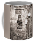 By The Sea In Brown Coffee Mug
