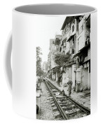 By The Tracks In Hanoi Coffee Mug