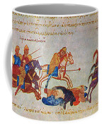Byzantines Cavalrymen Pursuing The Rus Coffee Mug