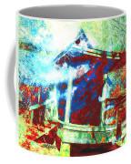 Cabin In The Fog Coffee Mug