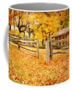 Cabin In The Woods Coffee Mug