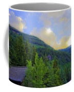 Cabin On The Mountain - Vail Coffee Mug