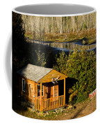 Cabin On The River Coffee Mug