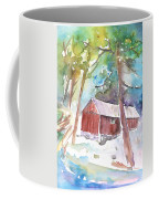 Cabine In The Troodos Mountains Coffee Mug