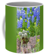Cactus And Bluebonnets 2am-28694 Coffee Mug
