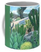 Cactus Garden Coffee Mug by Snake Jagger