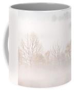 Cades Cove Fog - Square Version Coffee Mug