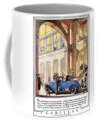 Cadillac Ad, 1927 Coffee Mug