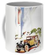 Cadillac Ad, 1929 Coffee Mug