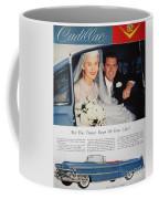 Cadillac Ad, 1955 Coffee Mug