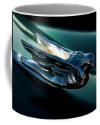 Cadillac Hood Angel Coffee Mug
