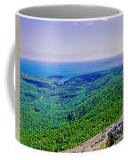 Cadillac Mt  Mt Desert Island Me Ocean View Coffee Mug
