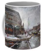 Caffe Aroma In Winter Coffee Mug