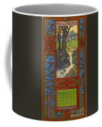 Calendar, 1923 Coffee Mug