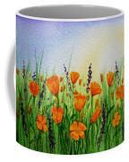 California Poppies Field Coffee Mug