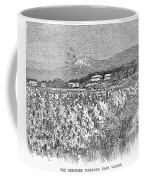 California: Vineyard, 1889 Coffee Mug