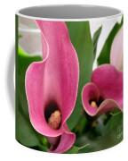 Calla Lilies In Pink Coffee Mug