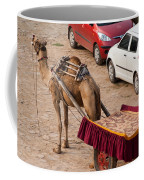 Camel Ready To Take Tourists For A Desert Safari Coffee Mug