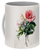 Camellia And Broom Coffee Mug by Marie-Anne