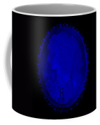 Cameo In Blue Coffee Mug by Rob Hans