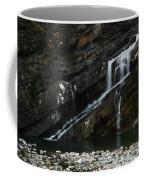 Cameron Falls Waterton Lakes National Park Coffee Mug