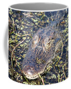 Camouflaged Gator Coffee Mug by Carol Groenen