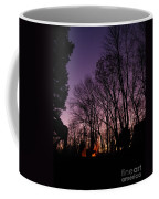 Camp Fire Sunset Coffee Mug