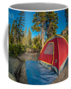 Camping In The Forest Coffee Mug