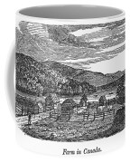 Canada: Farm, C1820 Coffee Mug