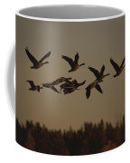 Canada Geese Fly In A Group Coffee Mug