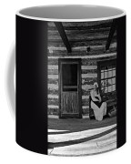 Canadian Gothic Monochrome Coffee Mug