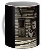 Canadian Gothic Sepia Coffee Mug