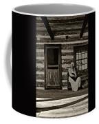 Canadian Gothic Sepia Coffee Mug