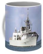 Canadian Navy Halifax-class Frigate Coffee Mug