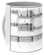 Canals: Languedoc Canal Coffee Mug by Granger