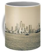 Canary Wharf Cityscape Coffee Mug
