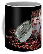 Candle And Beads Coffee Mug by Carolyn Marshall