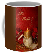 Candle Light Christmas Card Coffee Mug