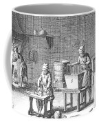 Candlemaking, 18th Century Coffee Mug