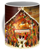 Candy Gingerbread House Coffee Mug